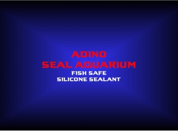 adino seal aquariumfish safe silicone sealant