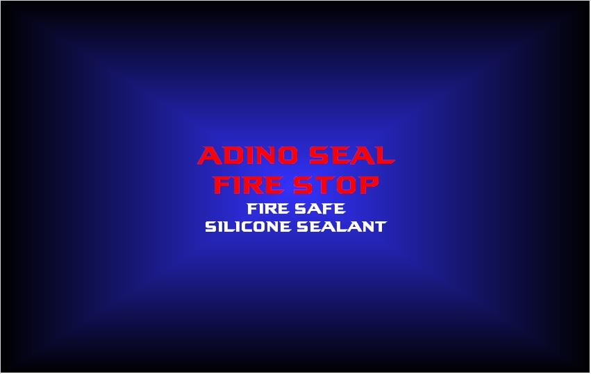 adino seal fire stopfire safesilicone sealant