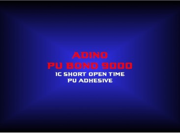 adino pu bond 90001c short open time pu adhesive