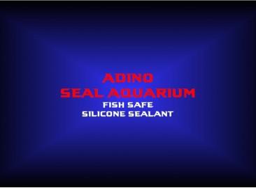 adino seal aquariumfish safe silicone sealant