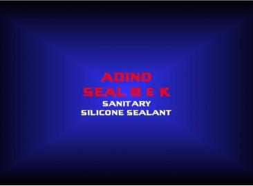 adino seal b & ksanitarysilicone sealant