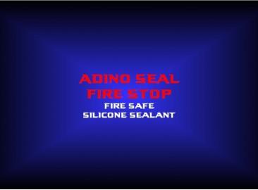 adino seal fire stopfire safesilicone sealant