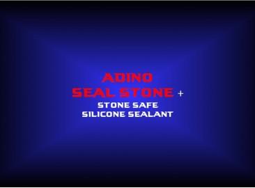 adino seal stone + stone safe silicone sealant