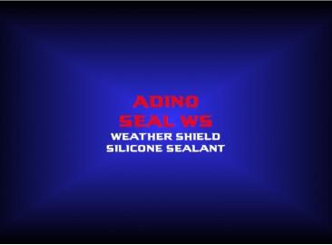 adino seal wsweather shield silicone sealant